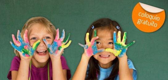 Coloquio sobre educación infantil en Barcelona