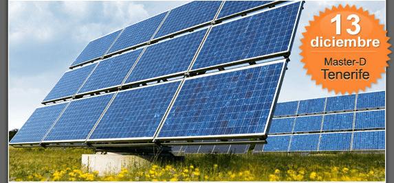 MasterD organiza un coloquio sobre energías renvables