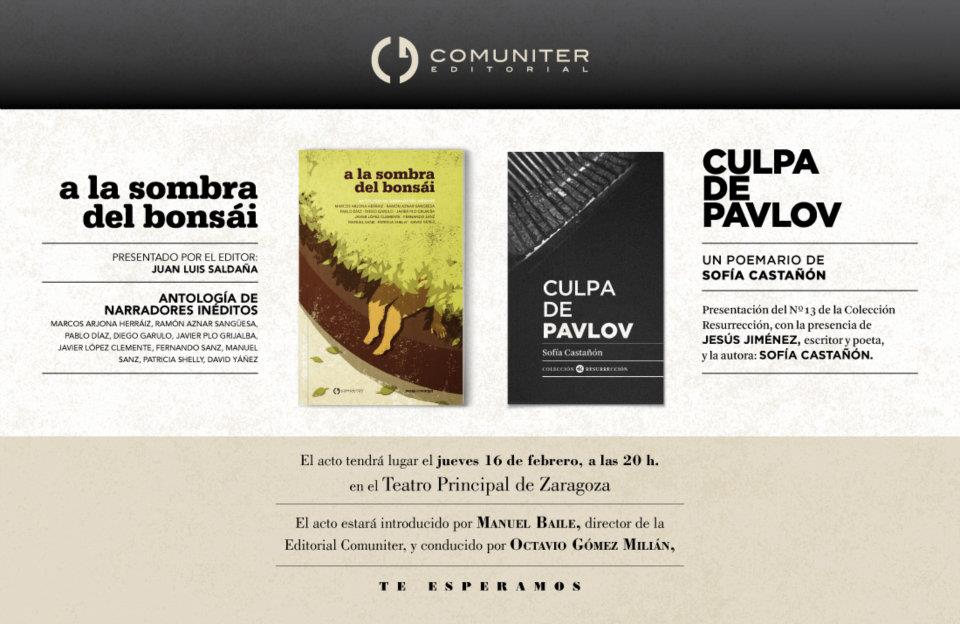"""Presentación del libro """"A la sombra del bonsái: Antología de narradores inéditos"""""""